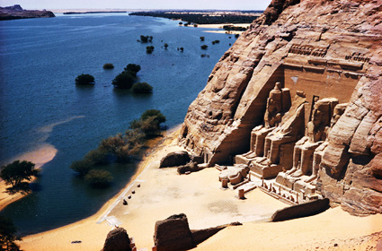 travel-routes-03-g1 - Did the Nile River really turn to blood? - Bible Study